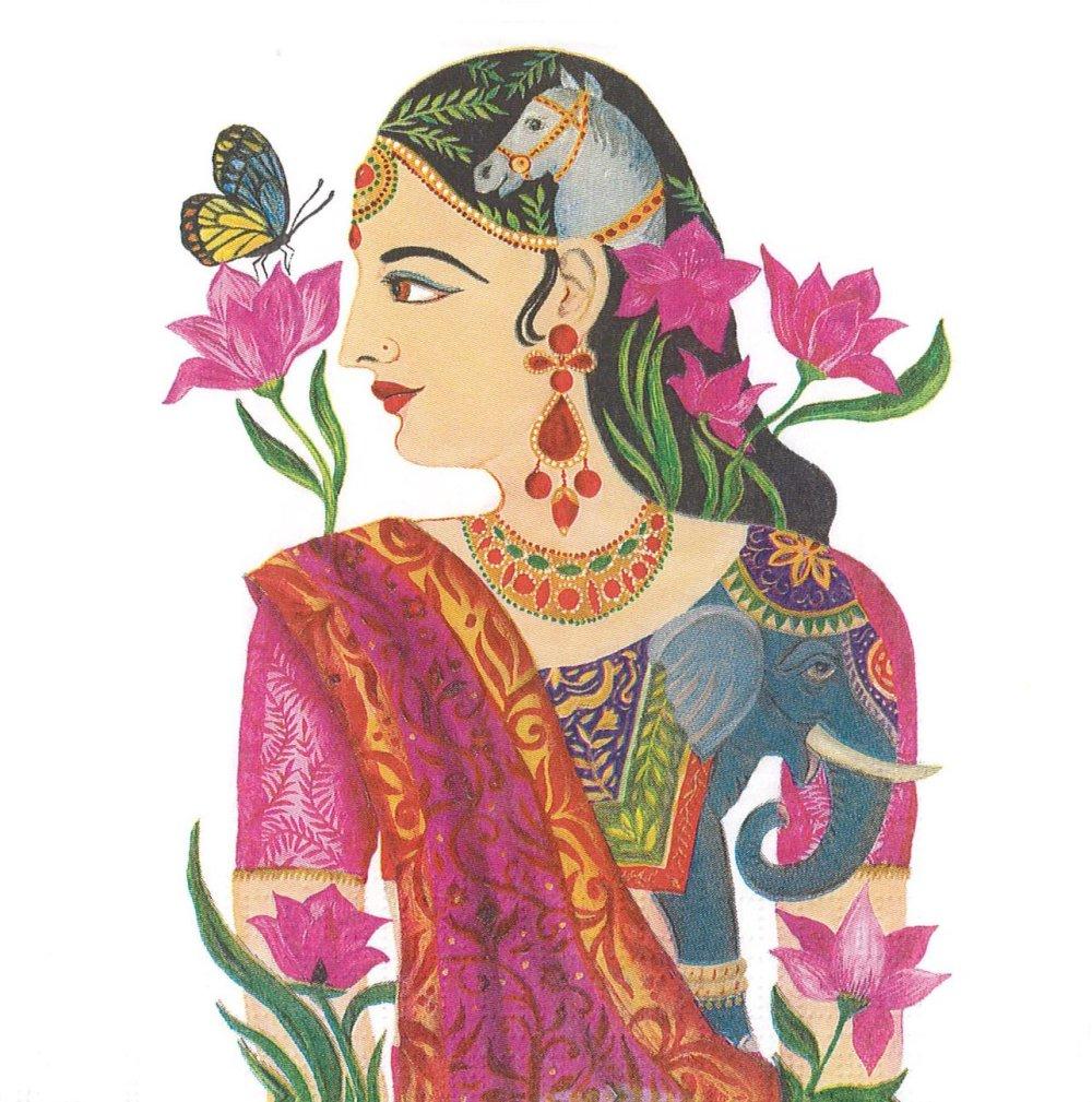 Serviette Papier Princesse Kumudha