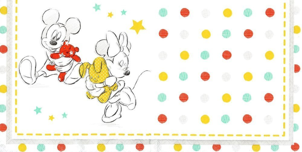 Serviette Papier Minnie et Mickey et les Ours Doudou