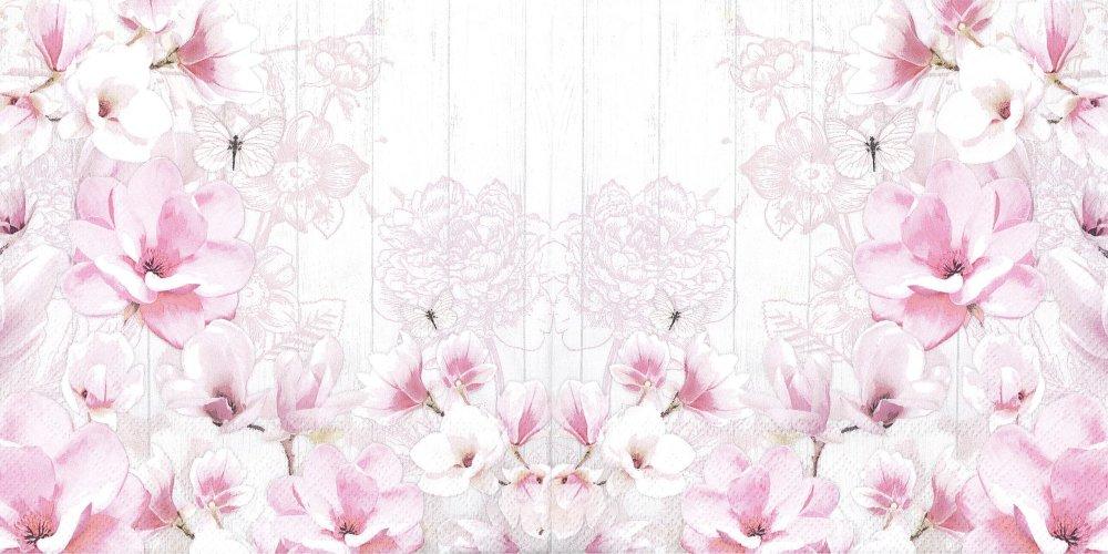 Serviette Papier Jardin de Magnolia Petit Papillon