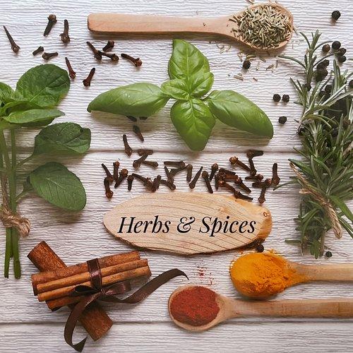 Set de table plastifié «herbes et épices»