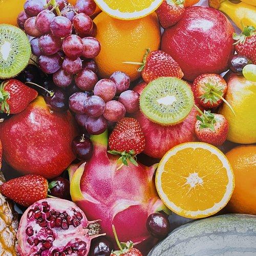 Set de table plastifié «fruits»