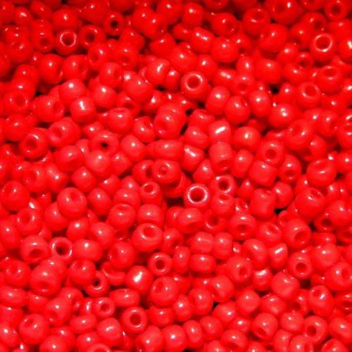 Preciosa-rocaille 1,5 mm rouge foncé avec se 20g