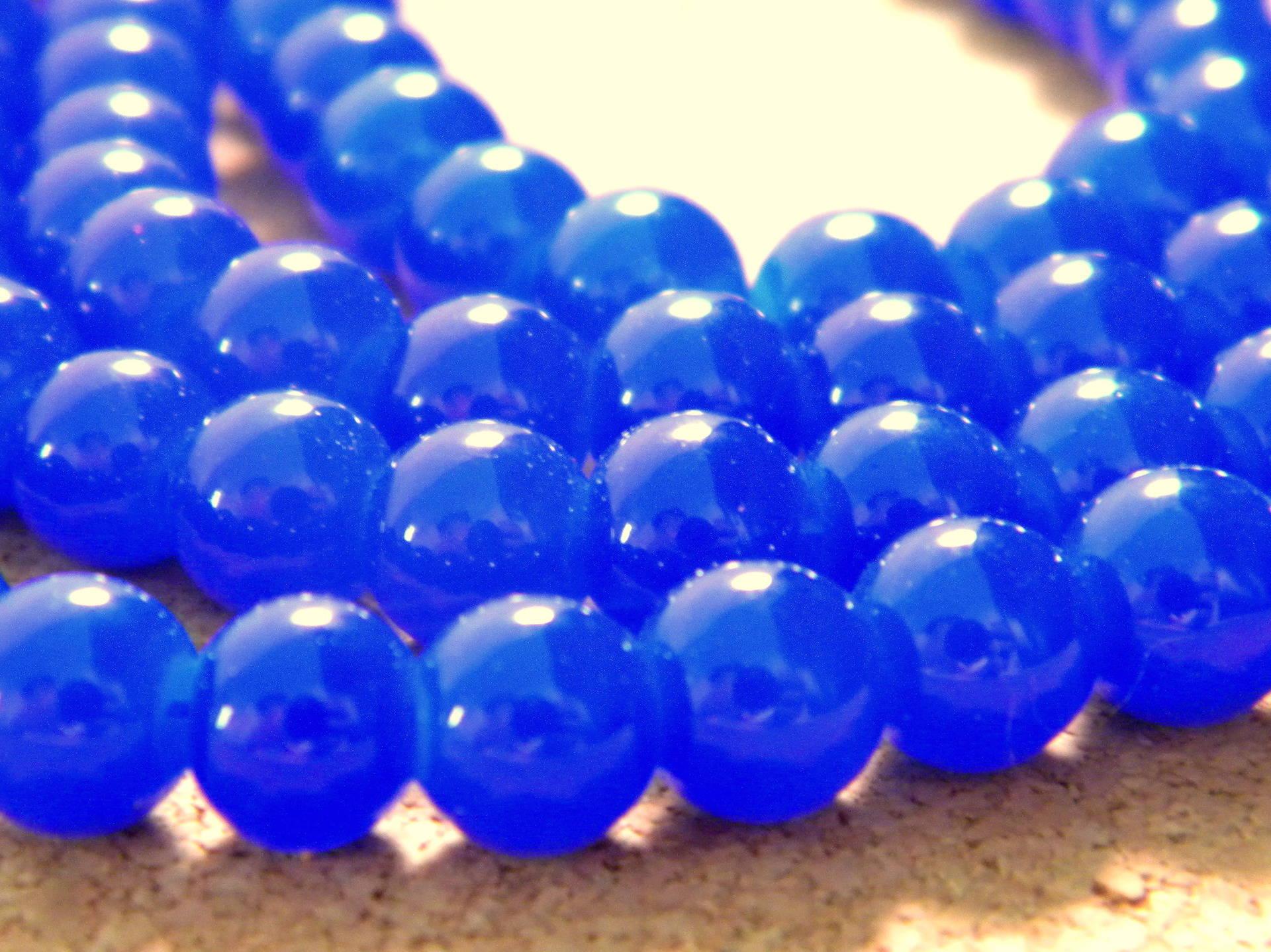 8 mm divers couleurs 50 x imitation jade perles de verre-rond-Craquelé