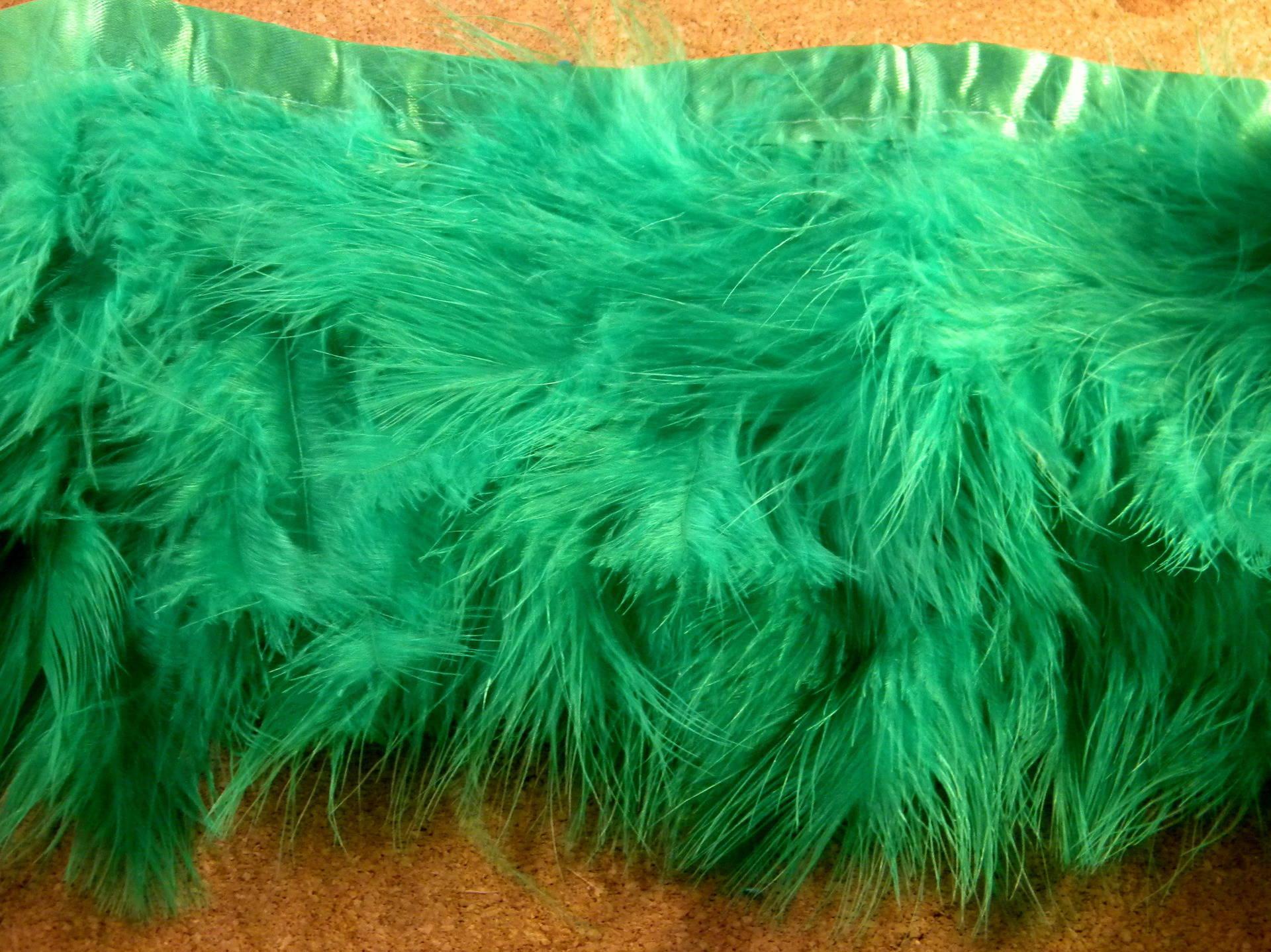10 plume ultra légére (ou 5 cm ) vert- 12 cm a 19 cm-monte sur biais  PLU 16