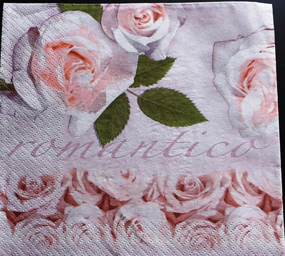 """Serviette en papier """"Inspiration romantique"""""""