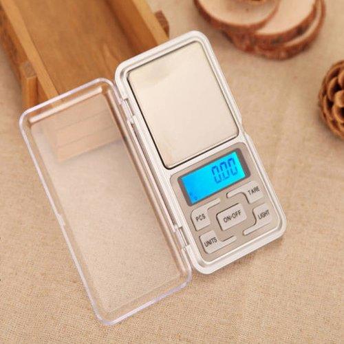 1 petite balance 0.1g à 500g électronique de poche , écran digital
