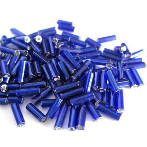 10 g transparent bleu cobalt Toho perles de rocaille 8//0-8