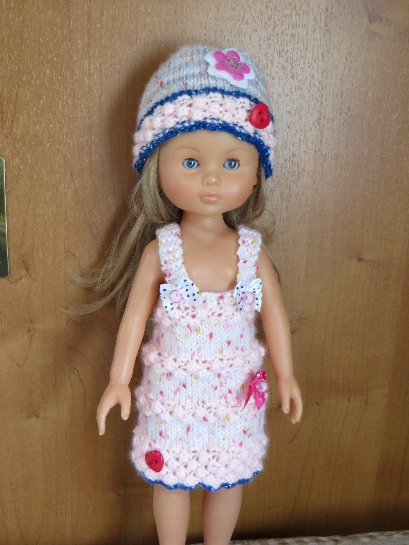 Robe et accessoires  pour Poupées Les Chéries, Paola reina, Little darling