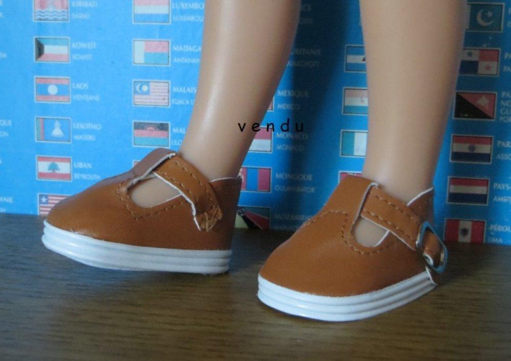 Chaussures pour Poupées Les Chéries, Paola reina,