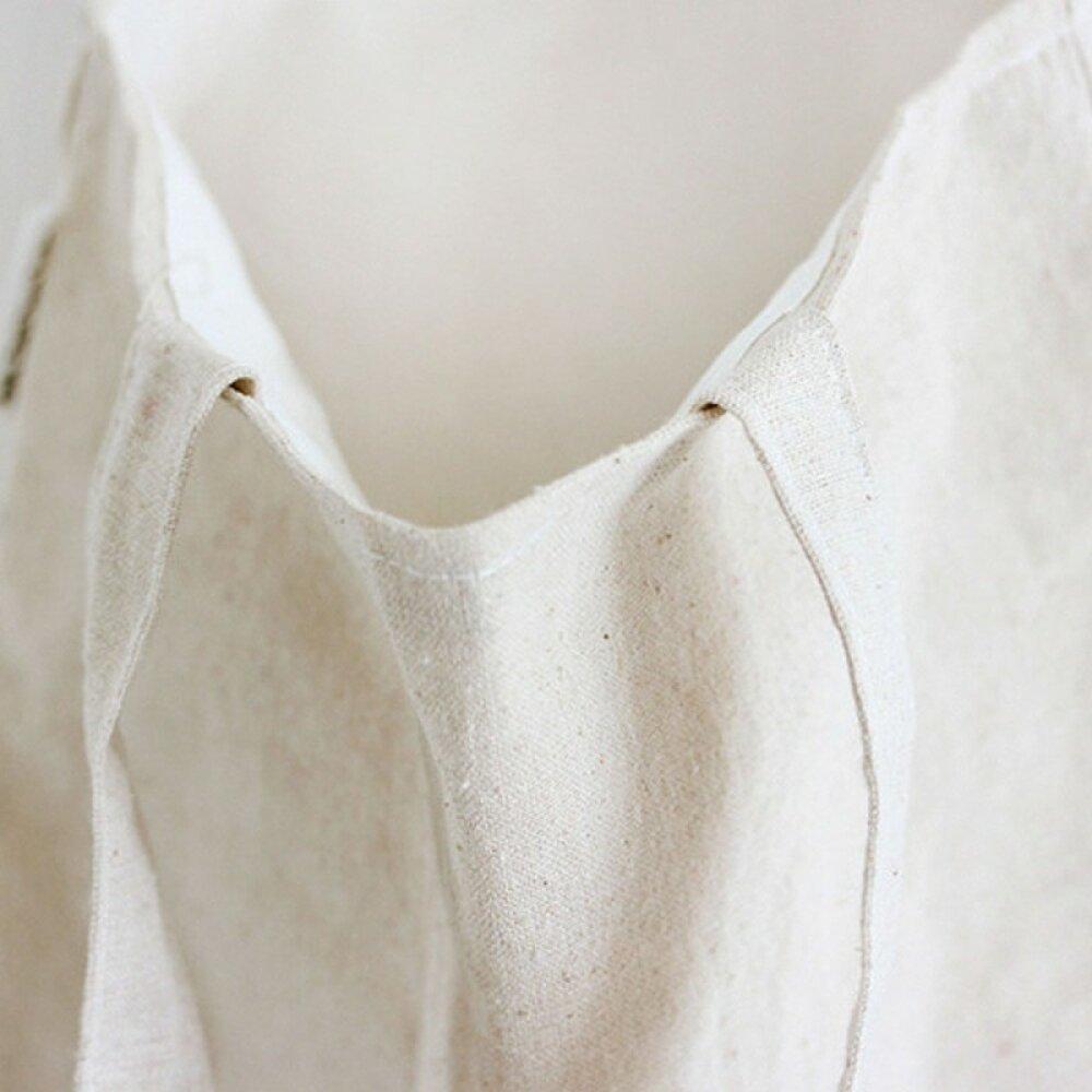 X1 - Tote-bag en lin et coton à customiser