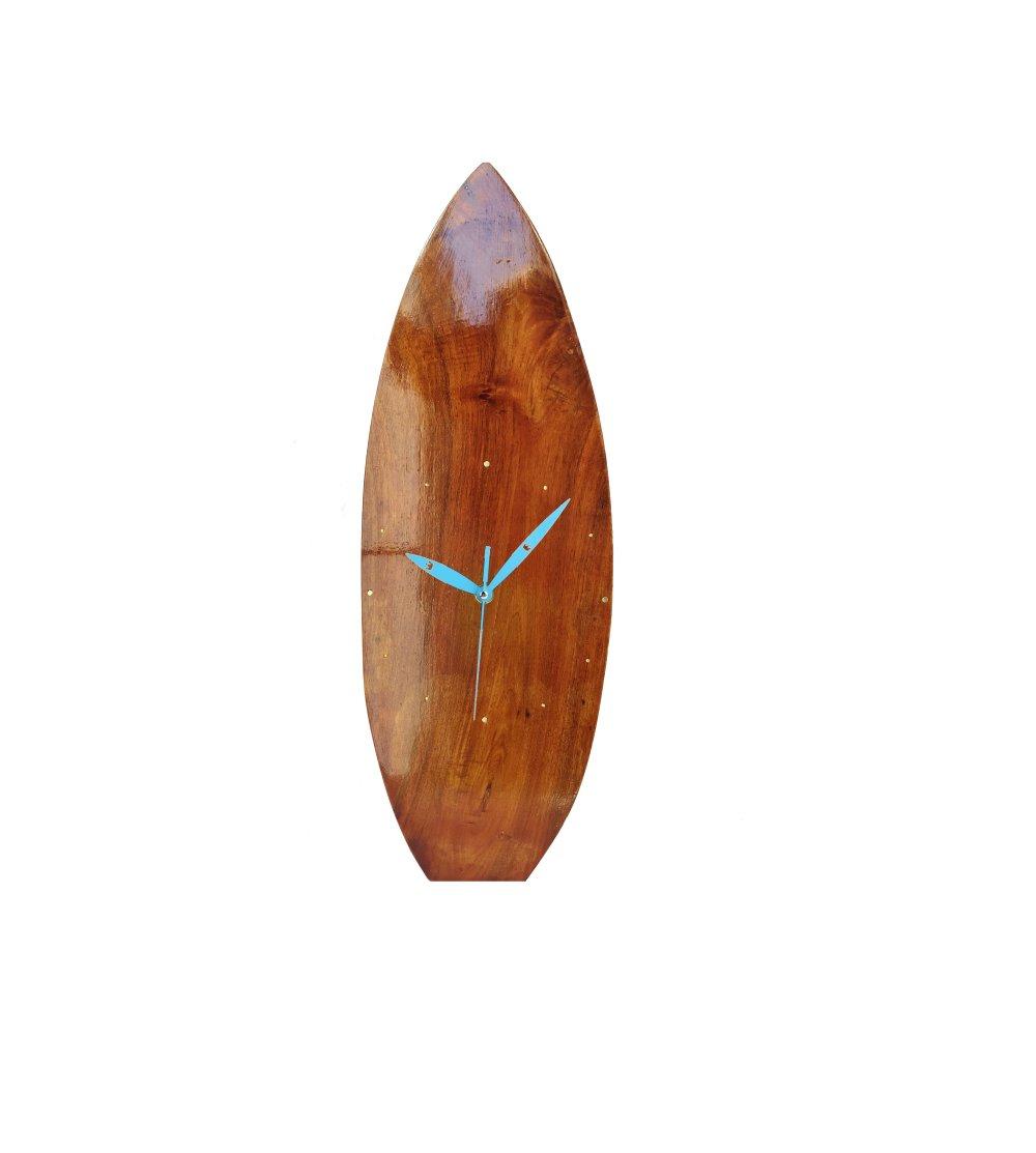 """Horloge en bois """"surf"""""""