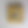 Livre éducatif jaune - quiet book- dalmatien