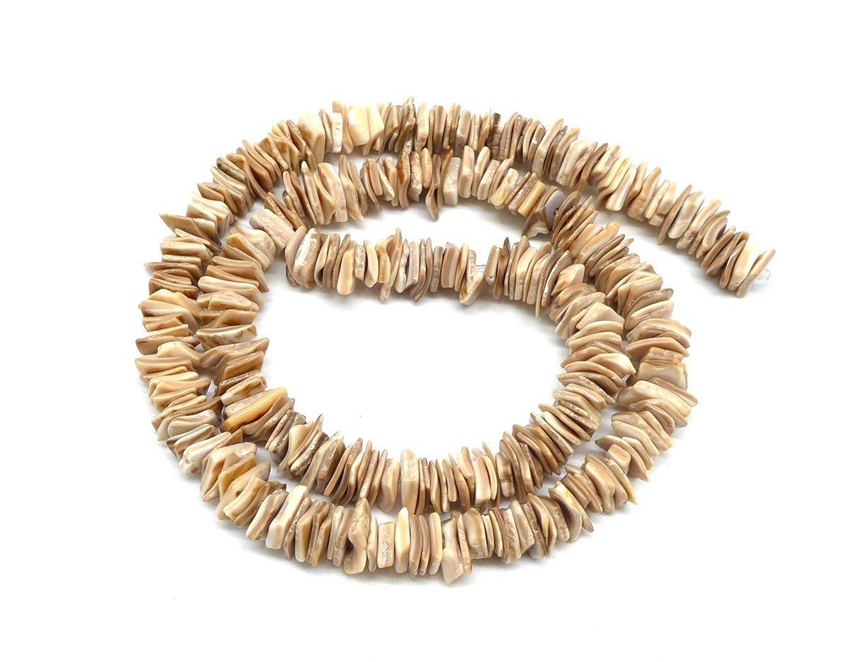 300 perles intercalaire naturelle Chips 5mm - 8mm style coquillage