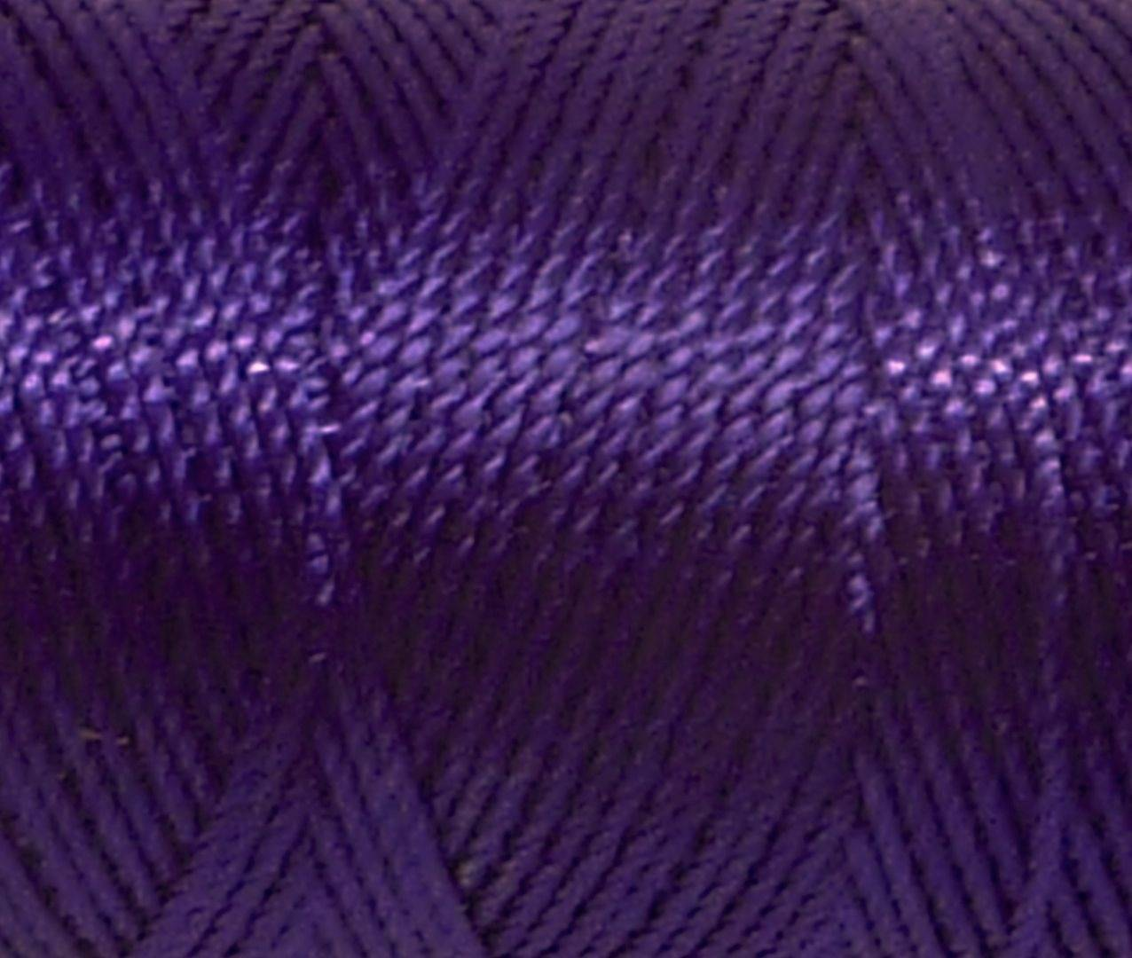 5m fil cordon nylon 0,8mm violet brillant