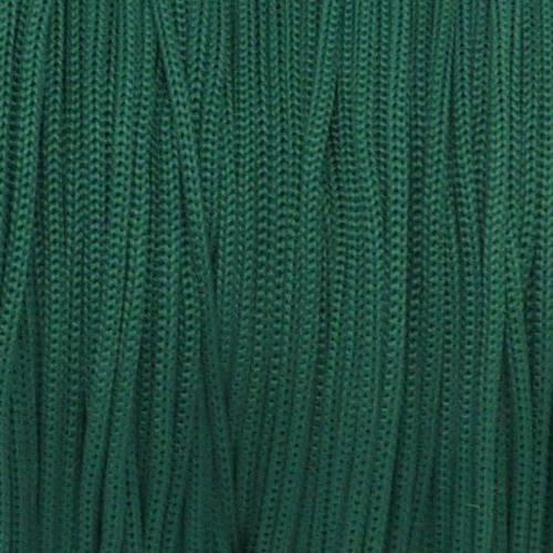 5m fil, cordon polyester, nylon tressé 0,8mm de couleur vert bouteille