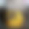 Disques démaquillants lavables jaune