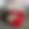 Disques démaquillants lavables rouge