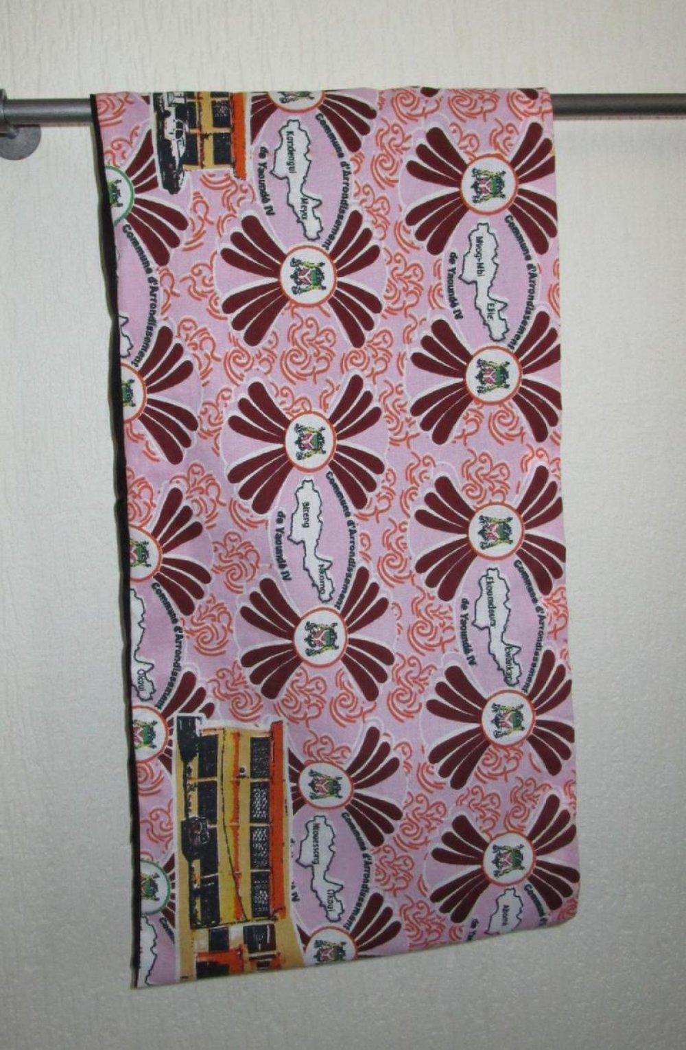 Accessoire écharpe double tour écharpe tissu wax cadeau femme foulard africain habits africains
