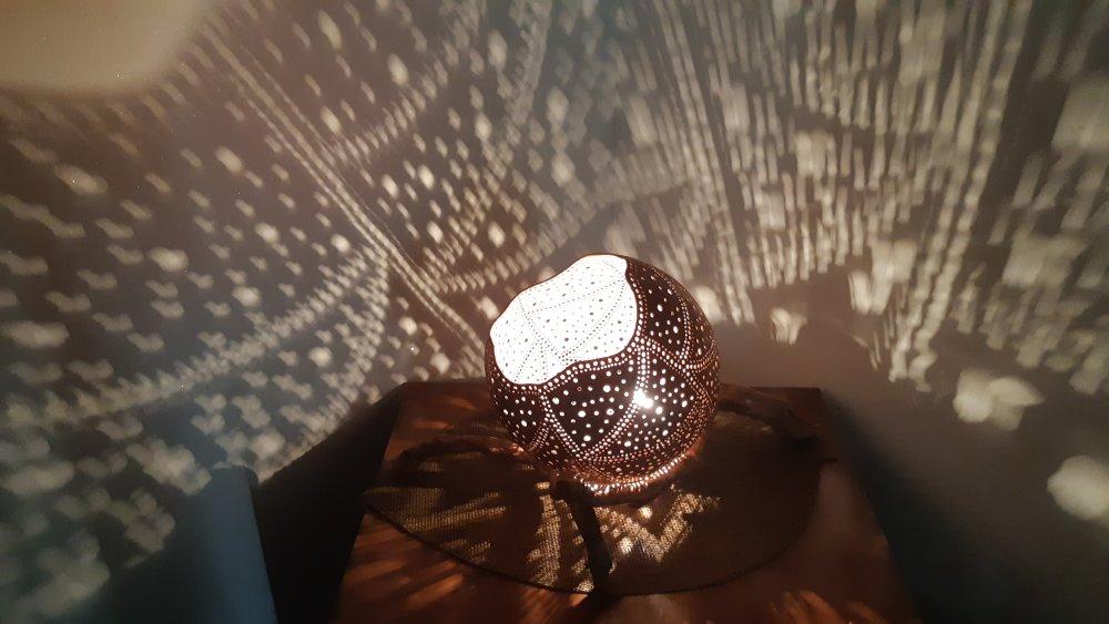 Lampe d'ambiance artisanale
