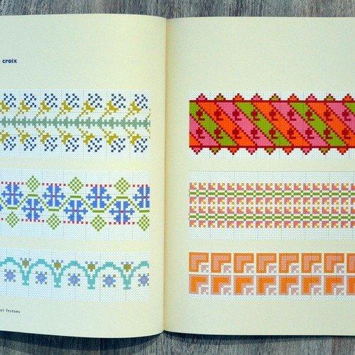 Livre Brodez Frises Bordures Et Festons 20 Ambiances Fleuries