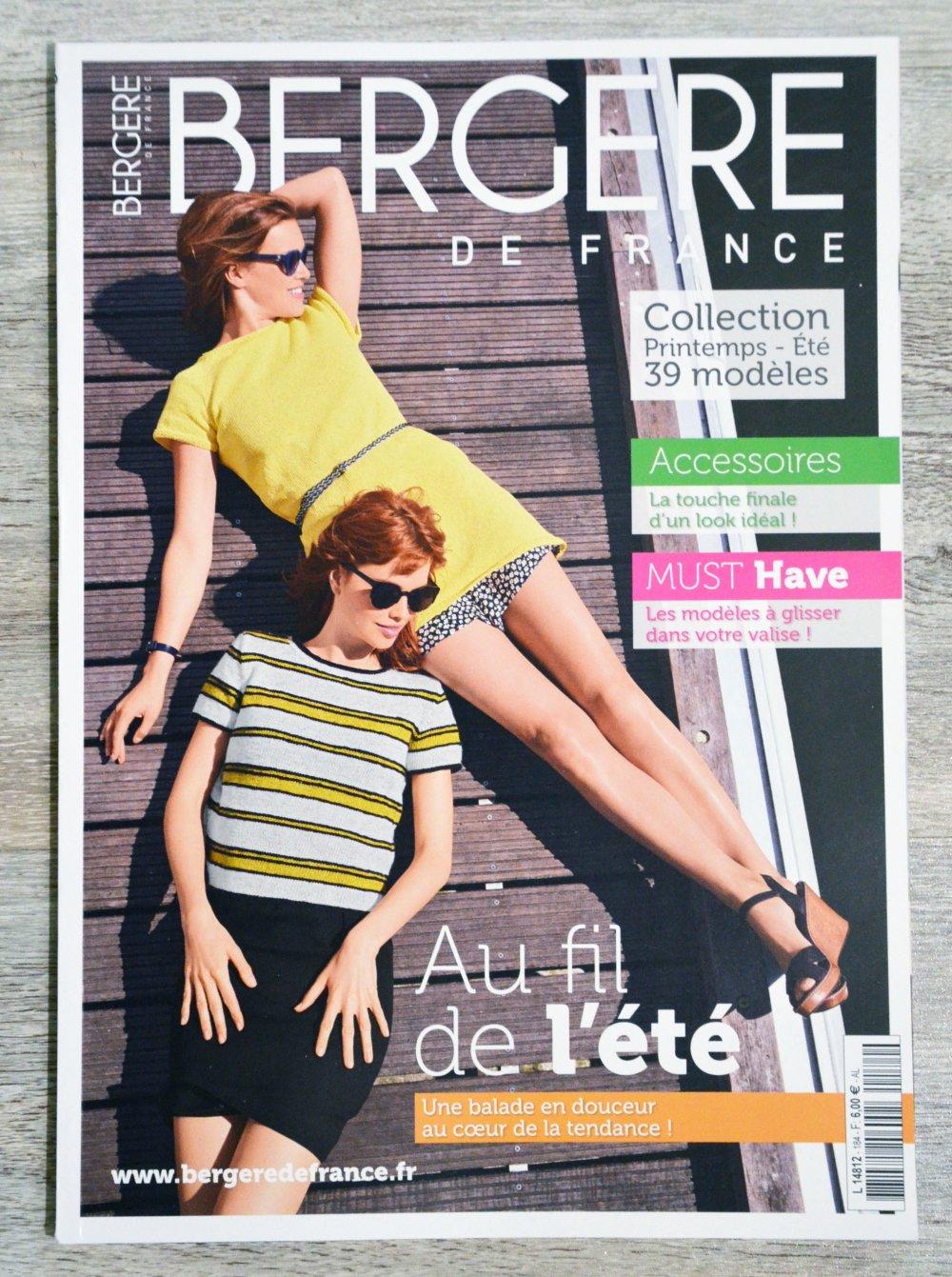 Magazine tricot Bergère de France n°184
