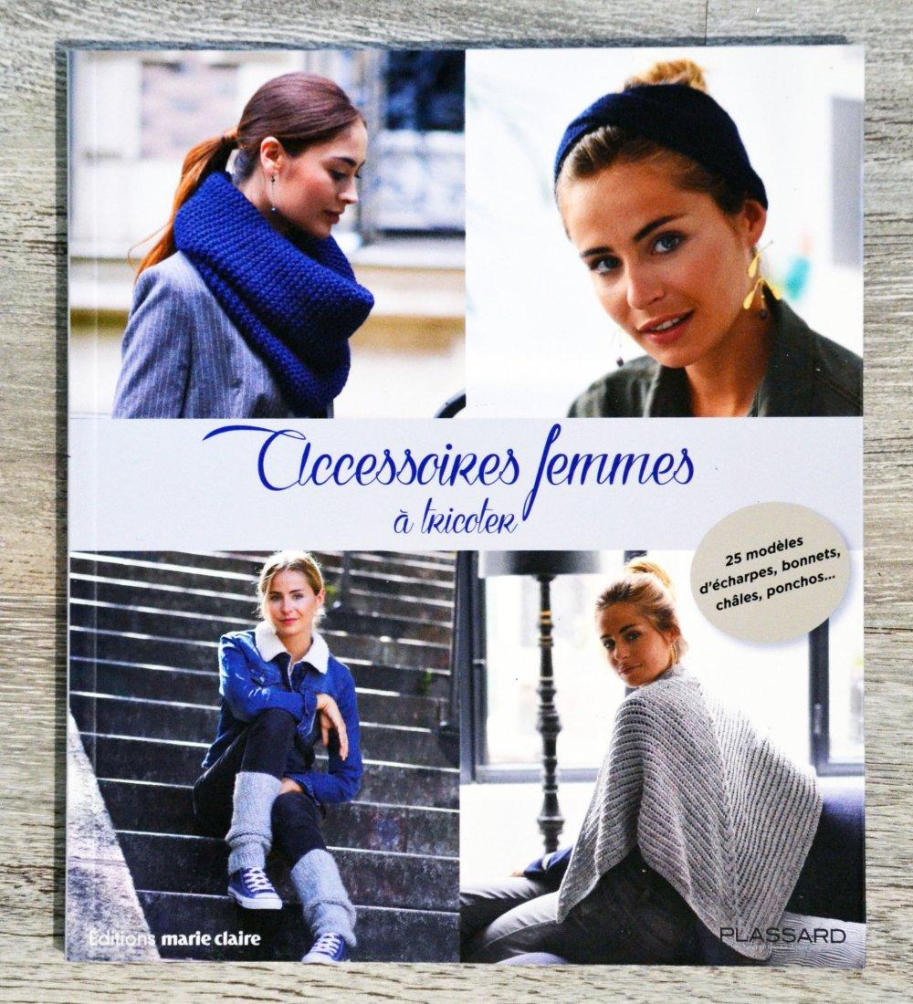 NEUF - Livre Accessoires femmes à tricoter
