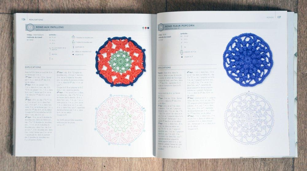NEUF - Livre 75 motifs floraux au crochet