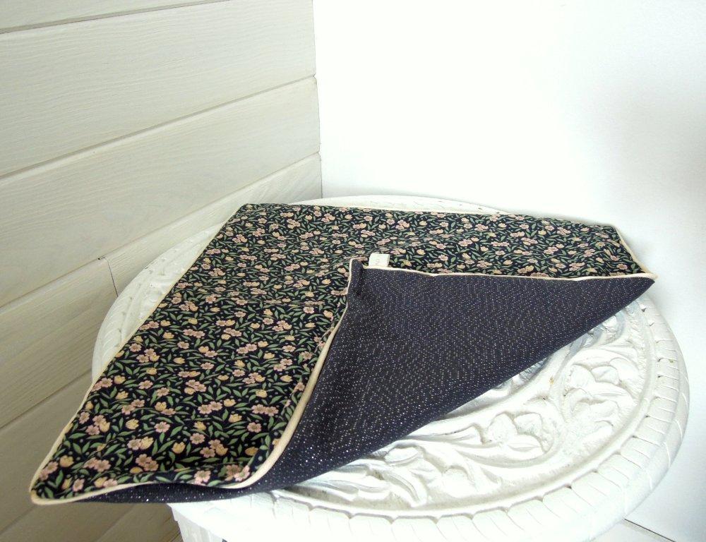 Housse de coussin   40 * 40 cm   décoration intérieure   motif petites fleurs