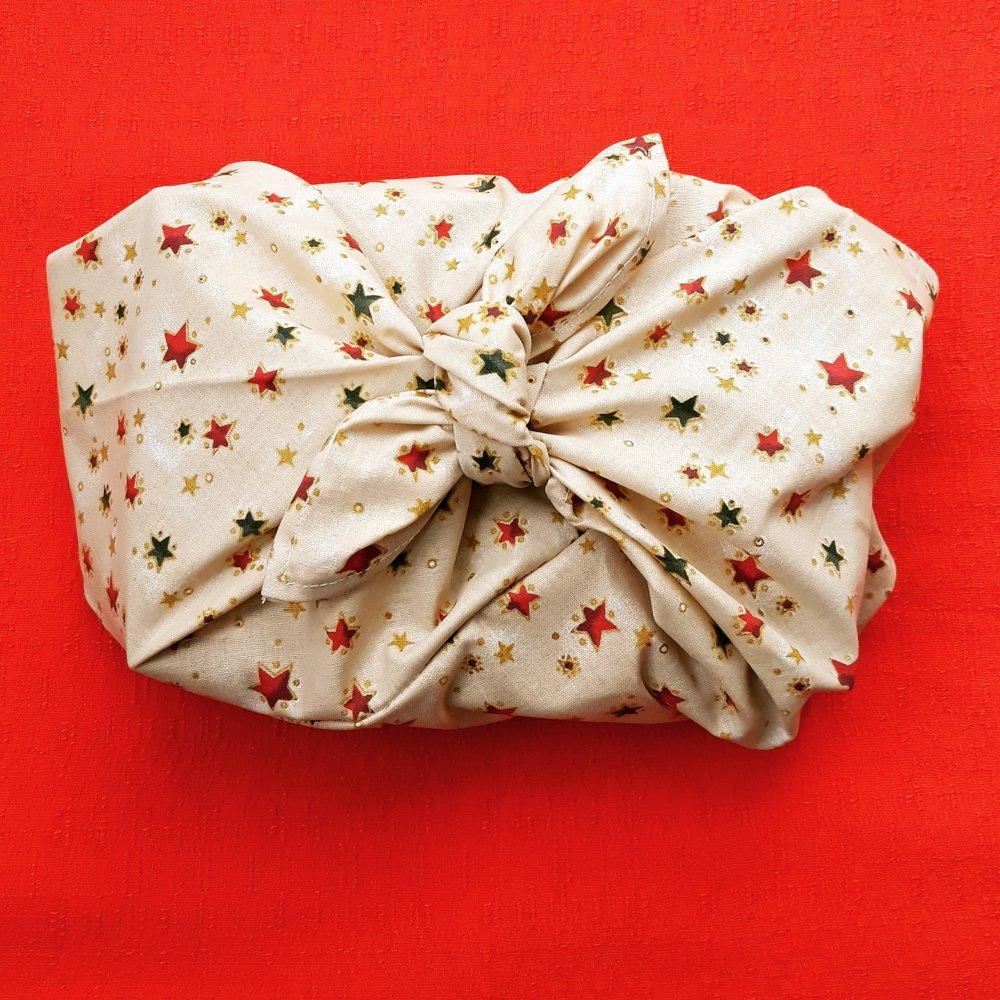 Sac azuma, emballage cadeau zéro déchet
