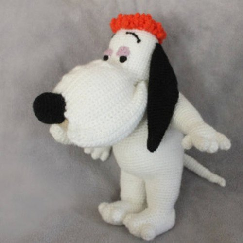 Doudou droopy au crochet, i'm so happy...