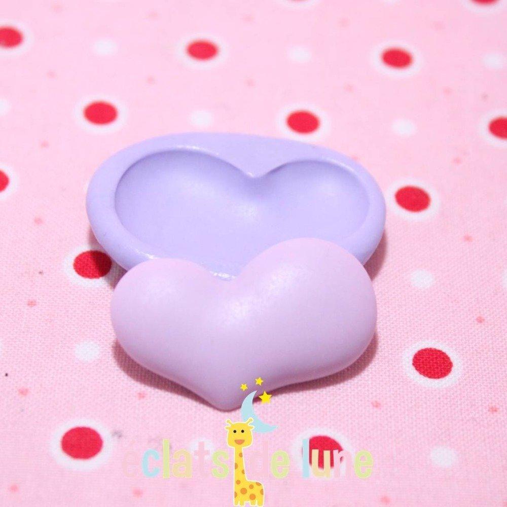 Moule en silicone Coeur 31/20 mm