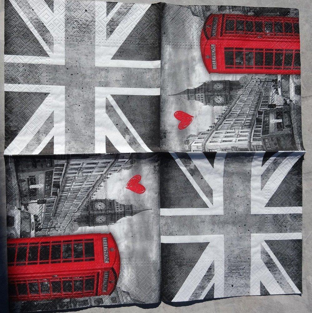 Serviette Londres