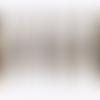 10 breloques plume bronze