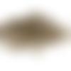 40 crochets d'oreilles bronze