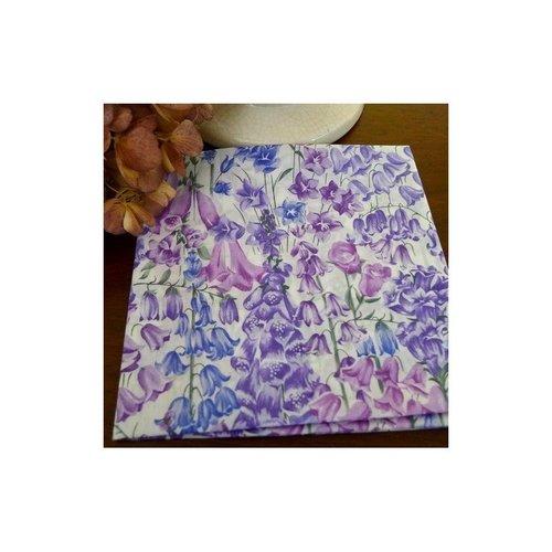 Coupon tissu 52 x 42 cm liberty birbeck mauve
