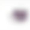Suédine strass violet 3mm sss-3.