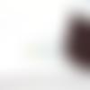 Fil nylon tressé marron 1mm nyl-3