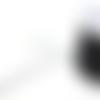 Fil nylon tressé noir 1mm nyl-13.