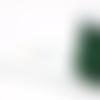 Fil nylon tressé vert foncé 1mm nyl-21.