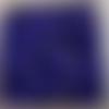 Perles à facettes bleues 4x3mm pble4-11.