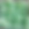 Perles à facettes turquoises 6x4mm x30 ptu5-3