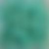 Perles à facettes turquoises 6x4mm x30 ptu5-6.