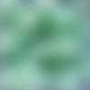 Perles à facettes turquoises 8x6mm x20 ptu4-23.