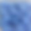 Perles à facettes bleues 8x6mm x20 pble7-16.