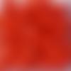 Perles à facettes rouges 6x4mm x30 prou4-1.