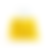 Perles jaunes en bois 7x6mm x20 pja4-2.