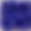 Perles à facettes bleues 6x4mm x30 pble5-23