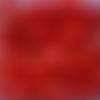 Perles à facettes rouges 6x4mm x30 prou2-21.