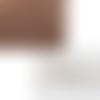 Lot de 4 pelotes de fil special amirugumi coloris marron