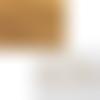 Lot de 4 pelotes de fil special amirugumi coloris marron clair